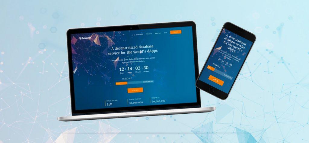 Bluzelle Token Sale ICO Website